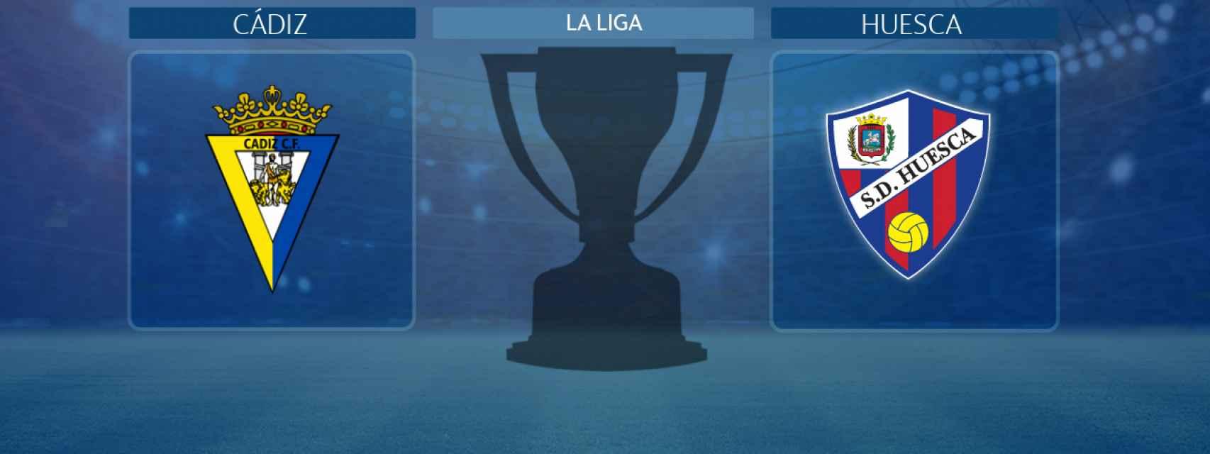 Cádiz - Huesca, partido de La Liga