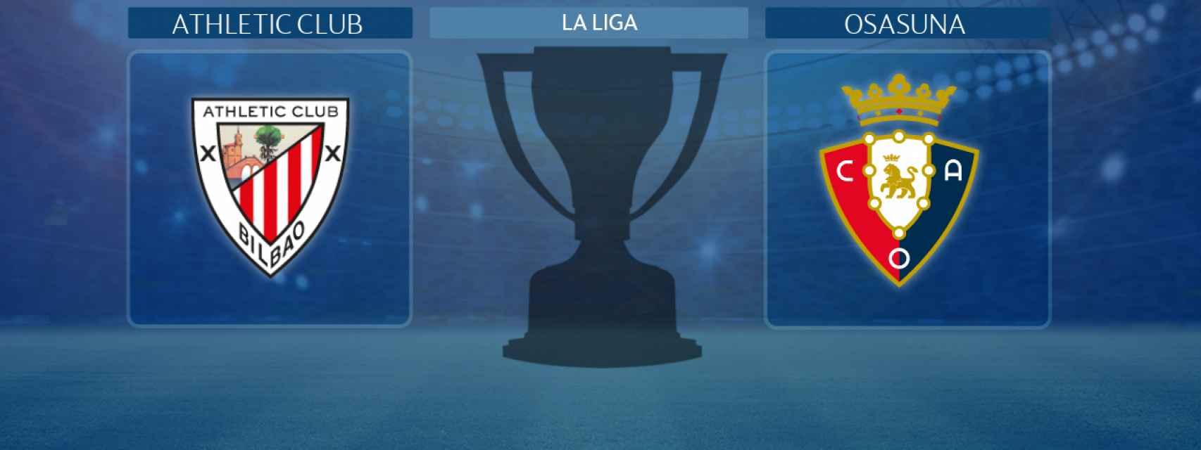 Athletic Club - Osasuna, partido de La Liga