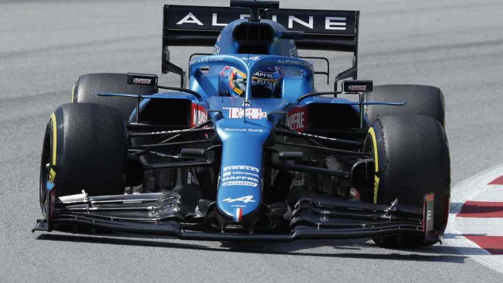 Fernando Alonso en el Gran Premio de España de Fórmula 1