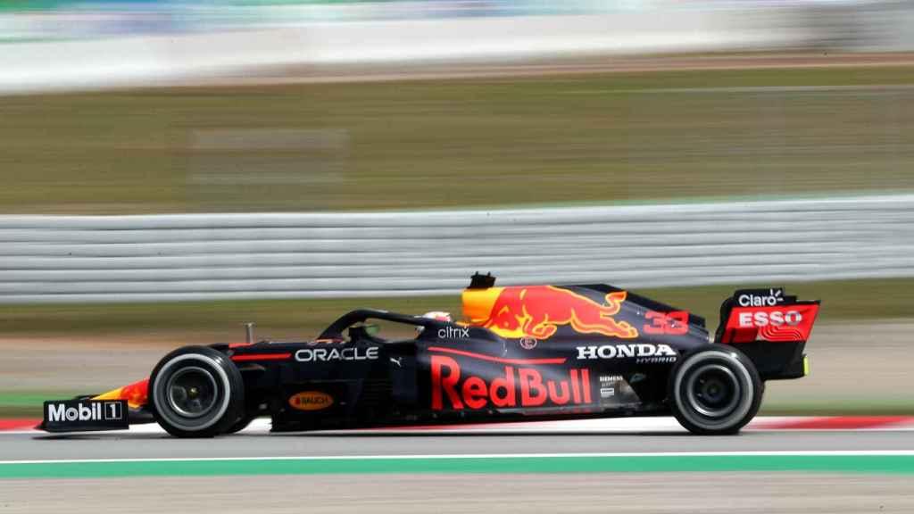 Max Verstappen en el Gran Premio de España de Fórmula 1