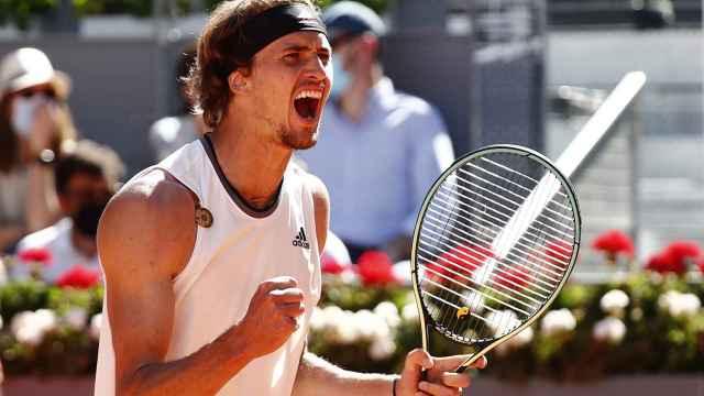 Las mejores imágenes del Rafa Nadal - Zverev del Mutua Madrid Open: camino a las semifinales