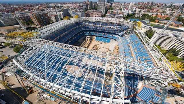Las increíbles imágenes del interior del Santiago Bernabéu cuando el público puede volver a los estadios