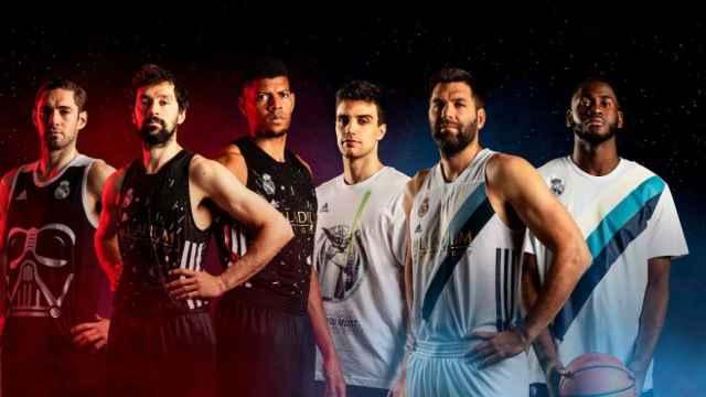 Real Madrid X Star Wars: así son las equipaciones 'galácticas' del equipo de baloncesto