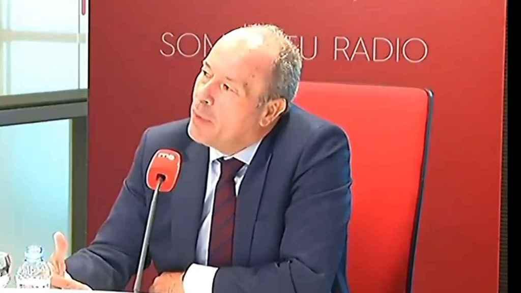 José Carlos Campo en entrevista.