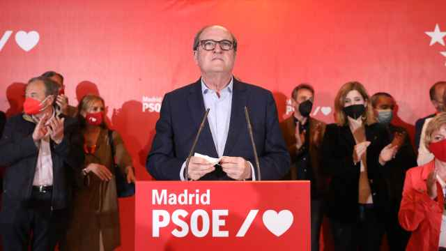 Ángel Gabilondo en su comparecencia la noche del 4-M.