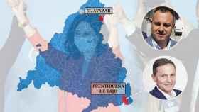 El secreto de Juan Pablo y José Antonio para resistir: alcaldes de las dos 'aldeas galas' del PSOE en Madrid