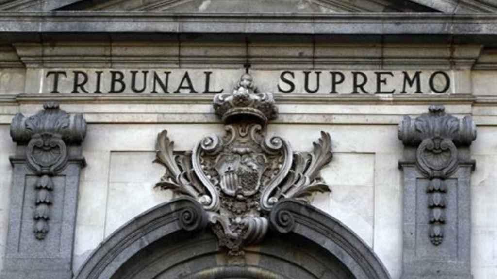 La fachada del Tribunal Supremo, en Madrid.