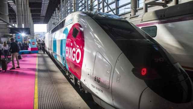 Viaje inaugural del tren Ouigo que liberaliza el sector