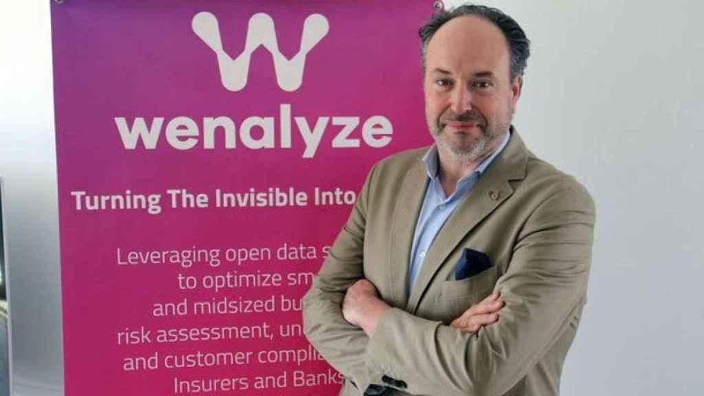 Carlos Albo es el CEO y cofundador de la startup española Wenalyze.