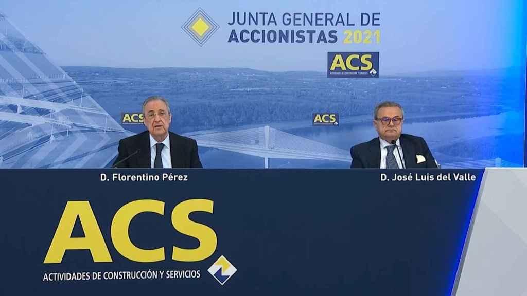 Imagen de la junta de accionistas de ACS 2021.