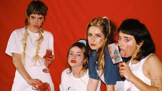 Las integrantes de la banda madrileña Shego.