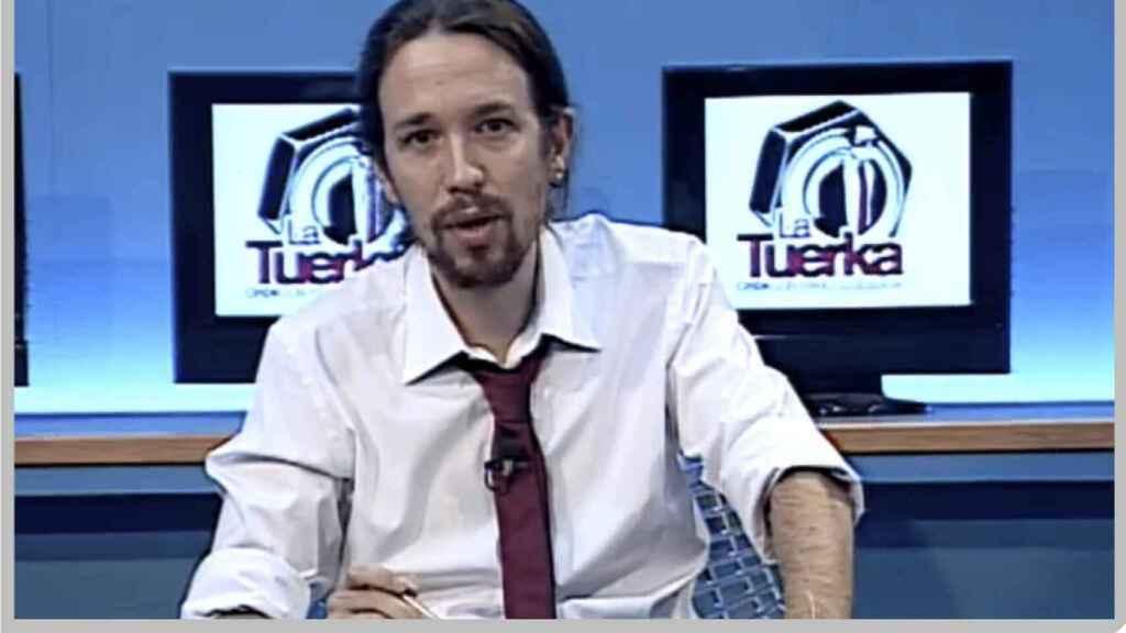 Pablo Iglesias, en la 'Tuerka'.