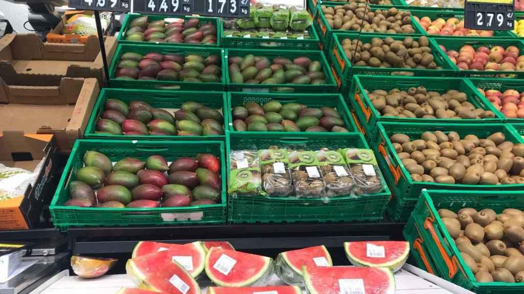 Mangos de Brasil en Mercadona.