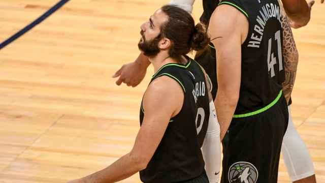 Las imágenes del deporte: el mayor enfado de Ricky Rubio en la NBA