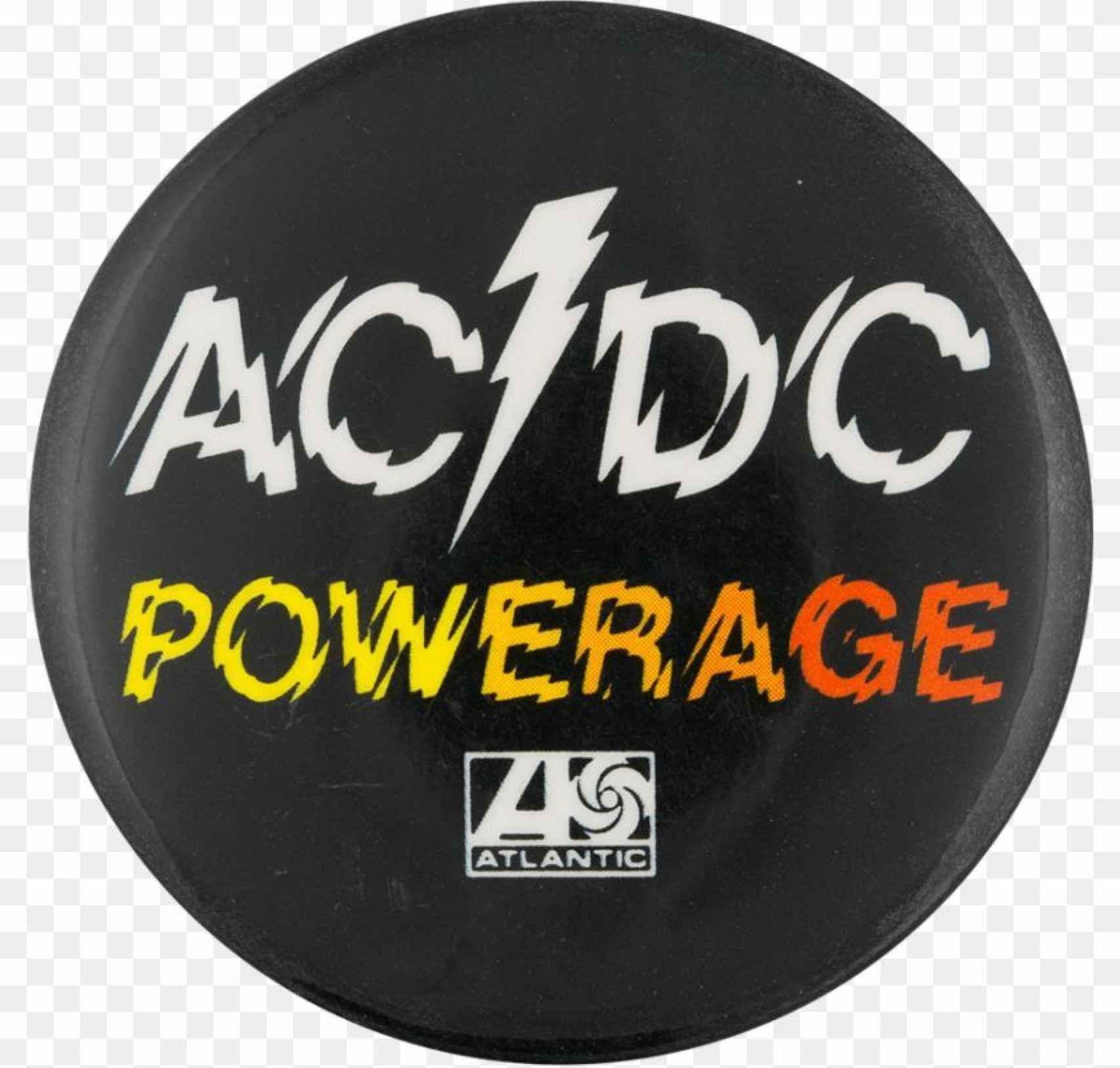 El logo usado en Powerage, que retiraron para usar el de Huerta.