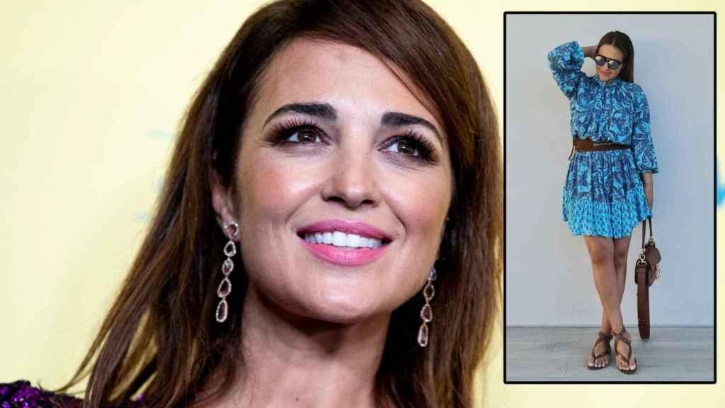 Paula Echevarría y su último 'look' en un montaje de JALEOS.