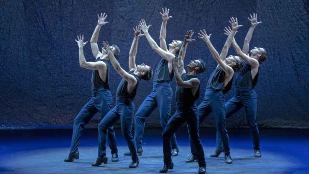 Una imagen del espectáculo 'Alento'.