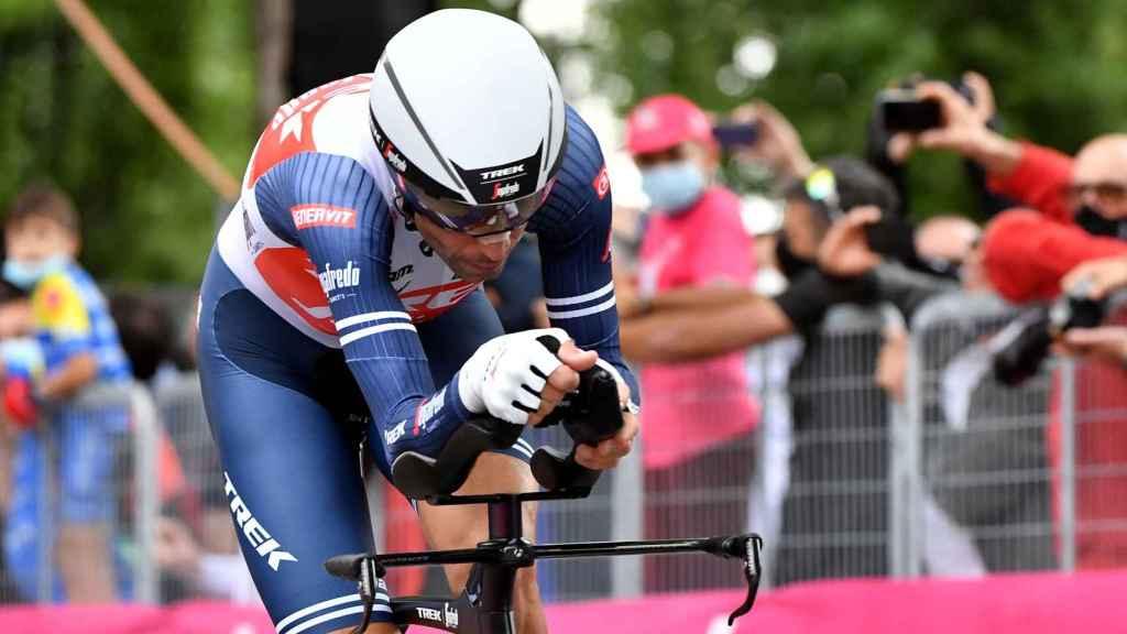 Vincenzo Nibali en la crono inaugural del Giro de Italia 2021