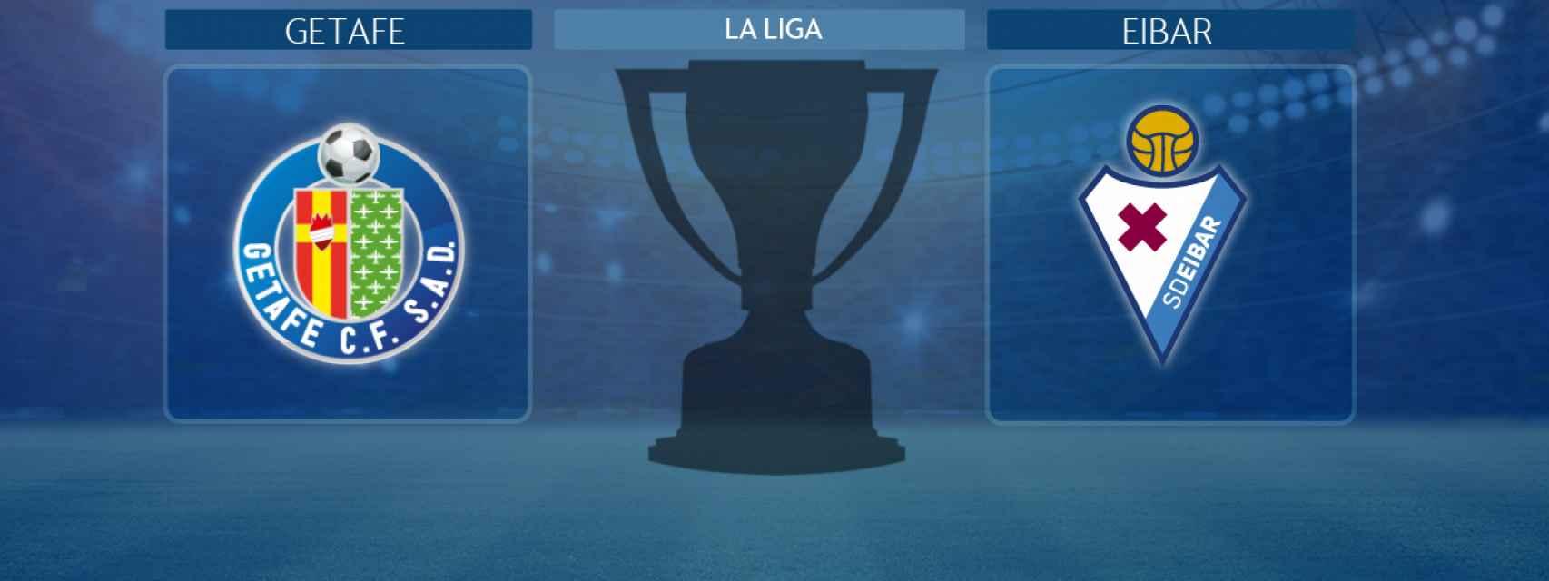 Getafe - Eibar, partido de La Liga