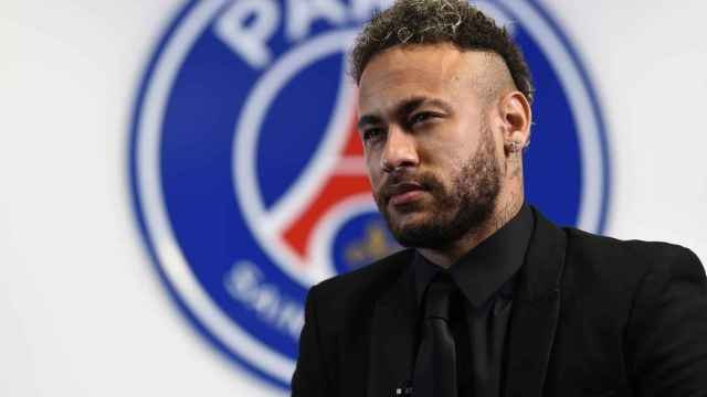 Neymar, en el PSG