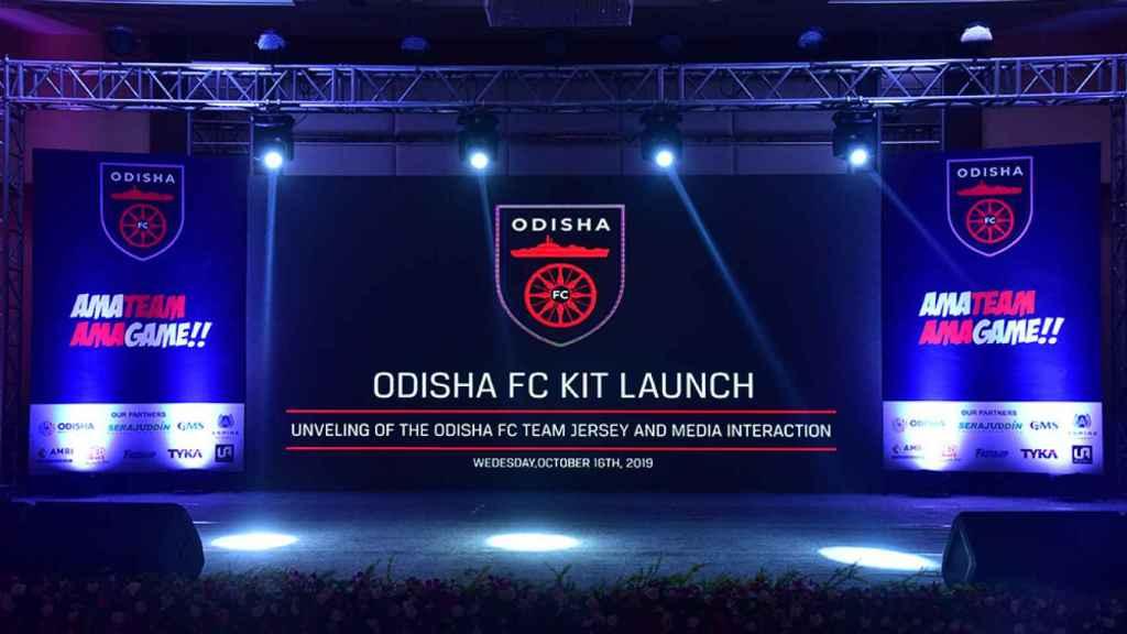 Un acto del Odisha FC