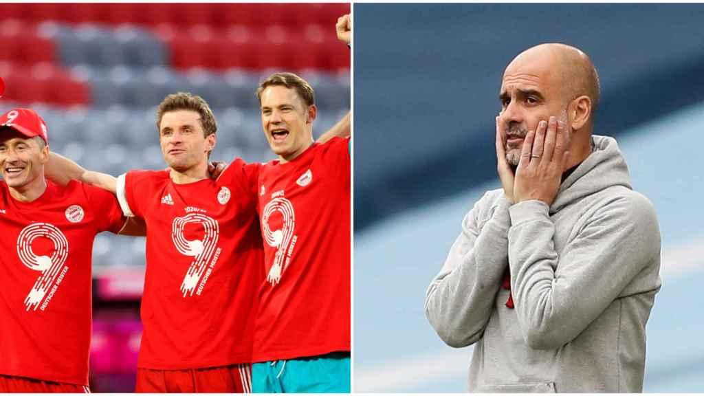 El Bayern gana su novena Bundesliga consecutiva y el Chelsea deja al City con ganas de Premier