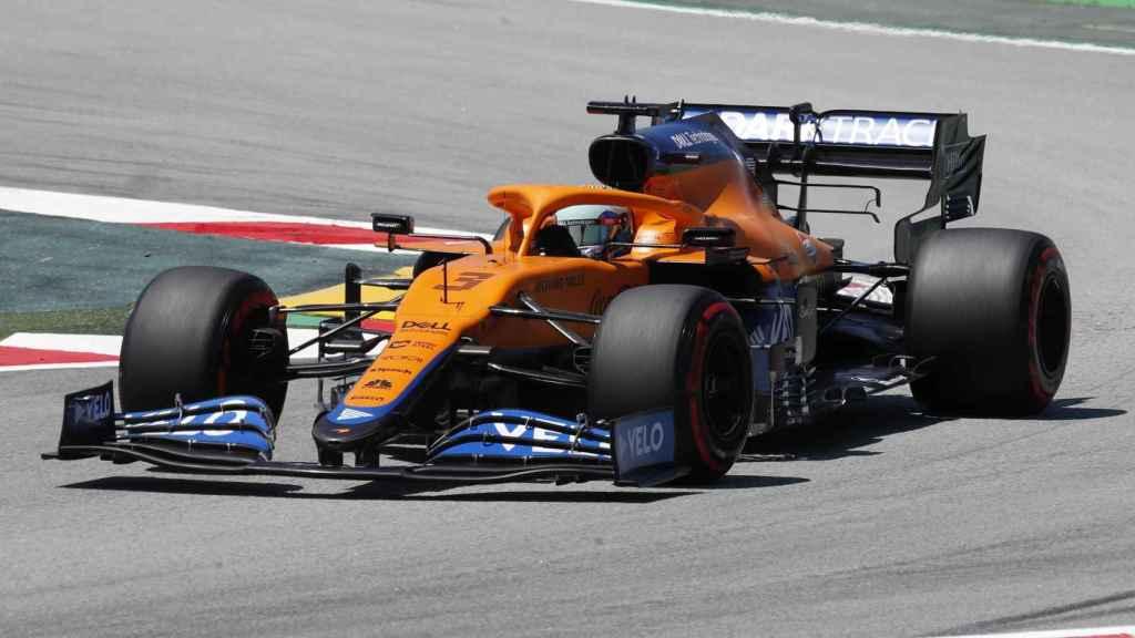 Ricciardo en el Gran Premio de España de F1