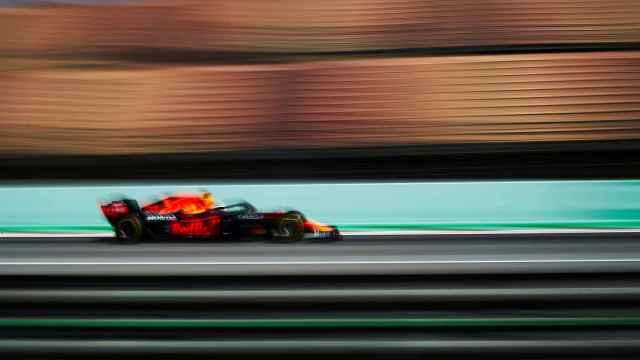 Max Verstappen, en los libres del GP de España