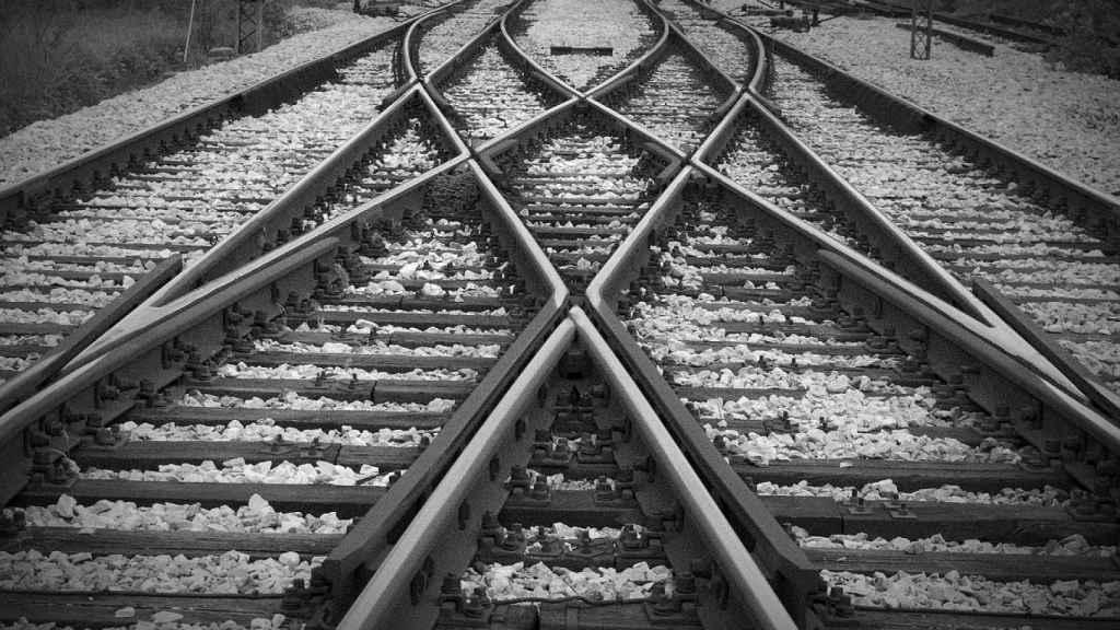 Imagen de unas vías de tren.