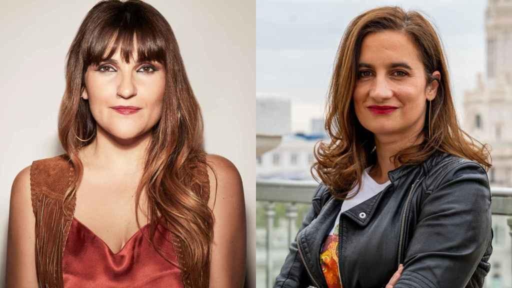 La artista Rozalén y Melanie Parejo, Head of Music de Spotify en el sur de Europa.