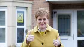 La primera ministra y líder del Partido Nacional Escocés (SNP), Nicola Sturgeon.