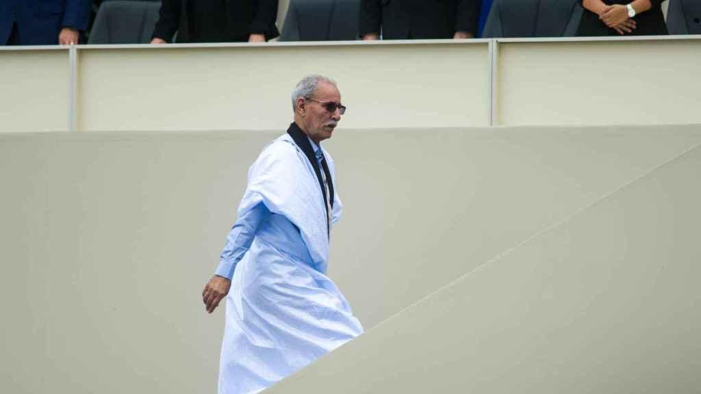 Brahim Ghali, en julio de 2019.