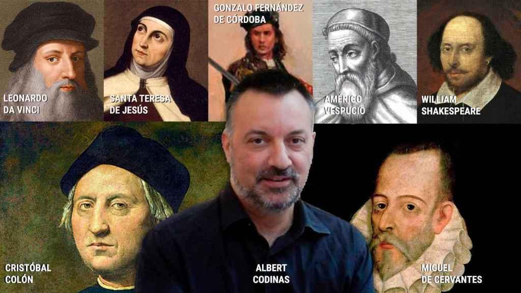Parte del elenco de personajes históricos que fueron catalanes y no lo supieron.
