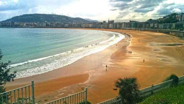 Playa del Sardinero, Santander.