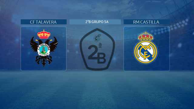 CF Talavera - Real Madrid Castilla