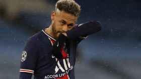 Neymar Jr, durante un partido con el PSG