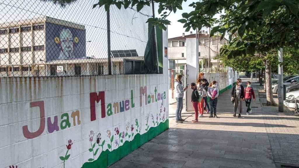Entrada del CEIP Juan Manuel Montoya de Valencia.