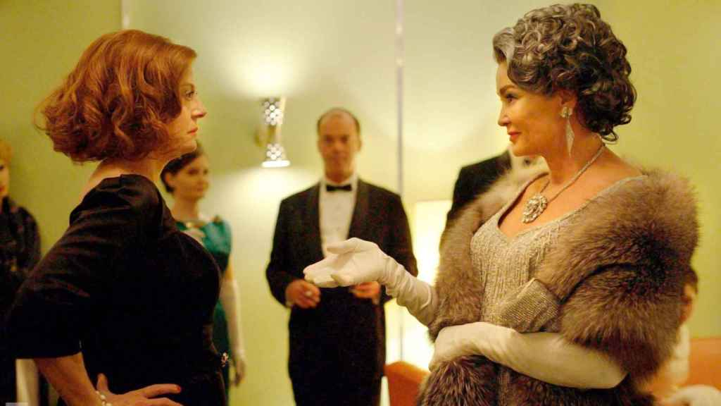 'Feud: Bette and Joan' mostraba la legendaria rivalidad de Bette Davis y Joan Crawford.