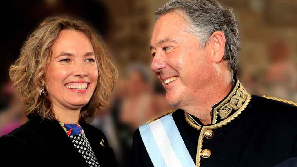 Alejandra Salinas y José María Michavila contrajeron matrimonio el pasado 1 de mayo.