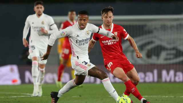 Las mejores imágenes del Real Madrid  - Sevilla de La Liga