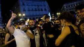 FOTO: Imagen de la noche en Madrid (EFE).