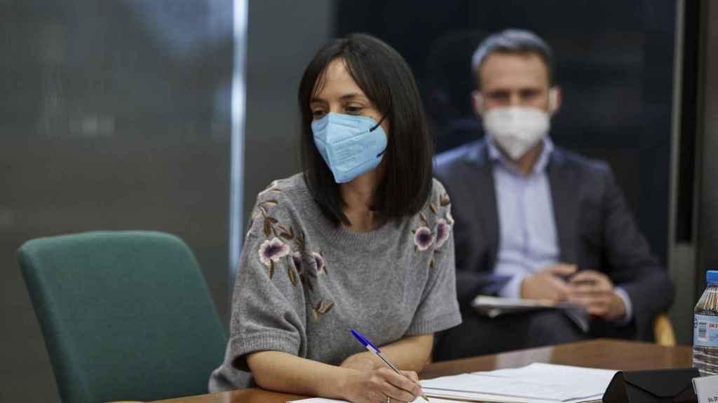 La delegada de Gobierno en Madrid, Mercedes González.