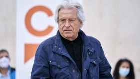 El eurodiputado Javier Nart participa en un acto de campaña de Ciudadanos para las elecciones del 4-M.
