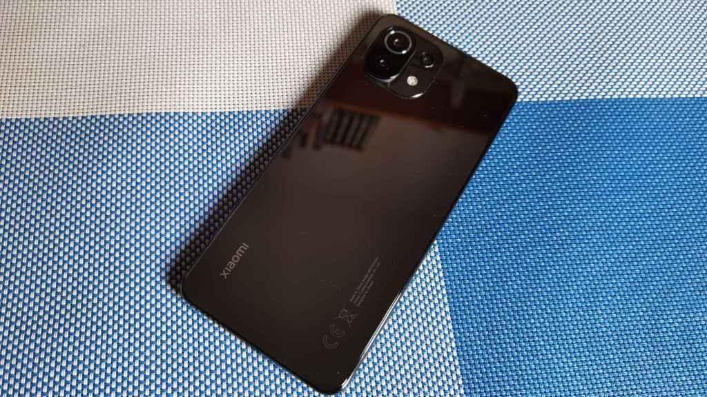La trasera del Xiaomi Mi 11 Lite