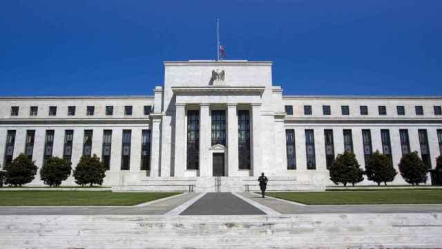El edificio de la Reserva Federal.