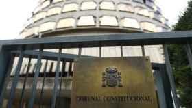 Edificio del Tribunal Constitucional en Madrid.