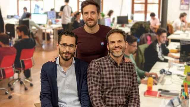 Los fundadores de Genially.