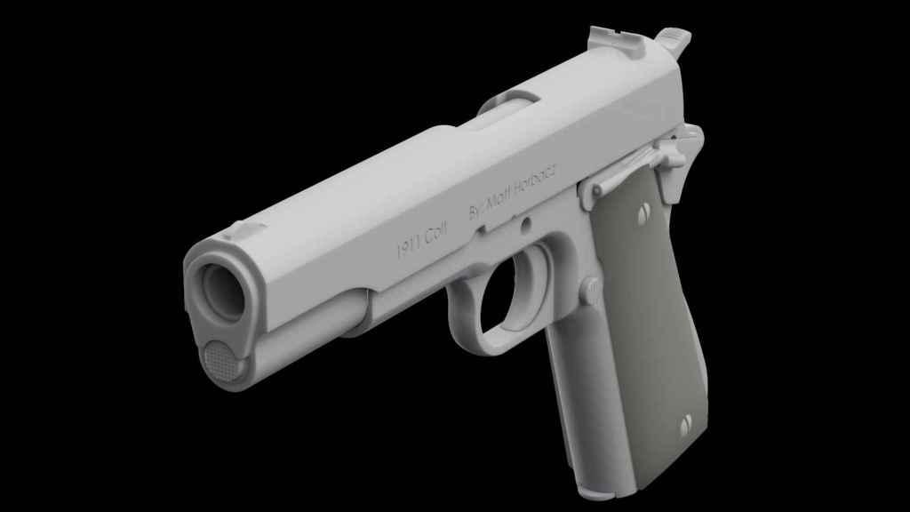 Arma hecha con impresora 3D