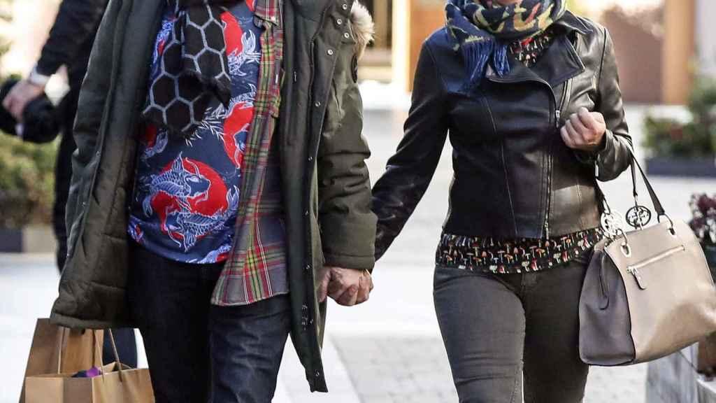 El cocinero junto a su mujer, Inma Núñez, en una imagen de 2019.
