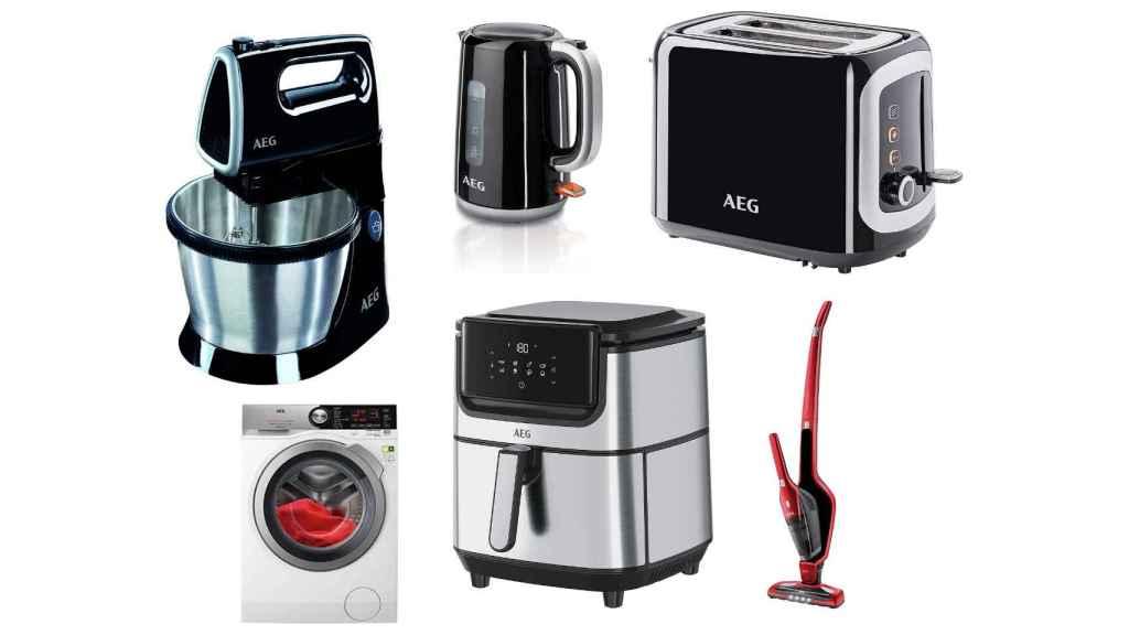 Descuentos en electrodomésticos de la marca AEG: aprovecha esta semana repleta de ofertas